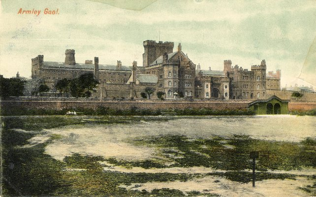 Armley Jail, Postcard