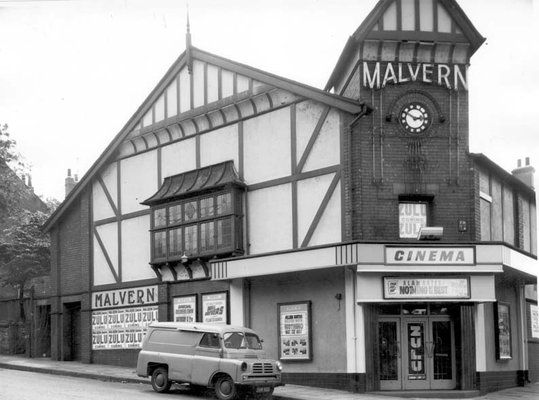 The Malvern Cinema at the junction of Beeston Road and Ashley Place