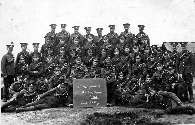 Royal Field Artillery, West Riding Brigade, Leeds Artillery
