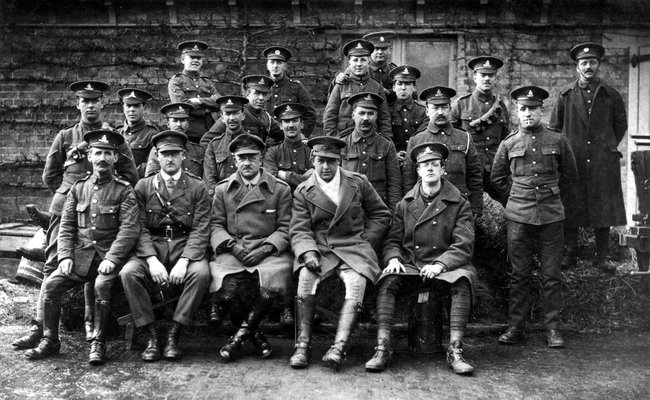First West Riding Brigade, First World War