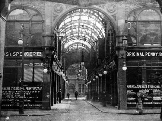 Cross Arcade, from Queen Victoria Street