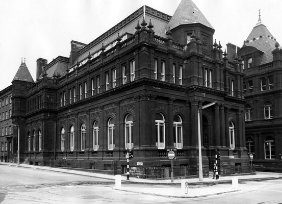 Education Board Offices and former School Board Offices, junction of Great George Street with Calverley Street