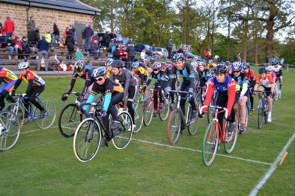 Roundhay Park, cycle race
