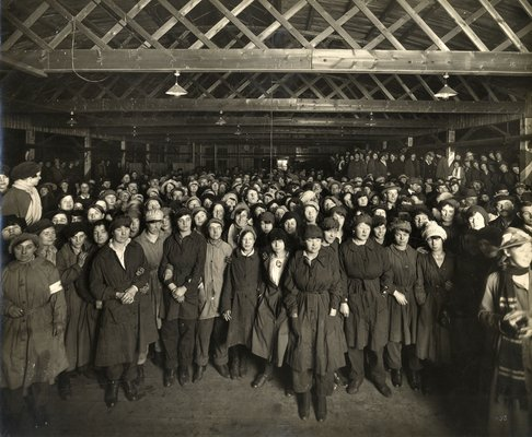 Barnbow No. 1 (Leeds) National Filling Factory, Armistice celebrations
