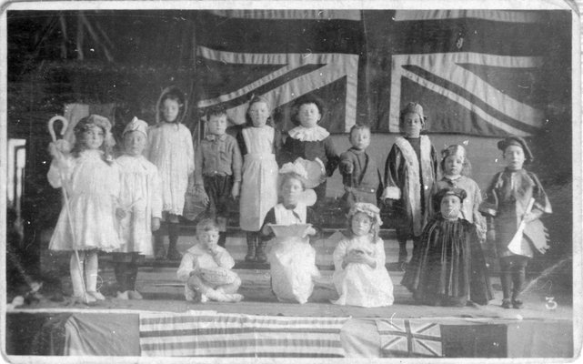 First World War, school play