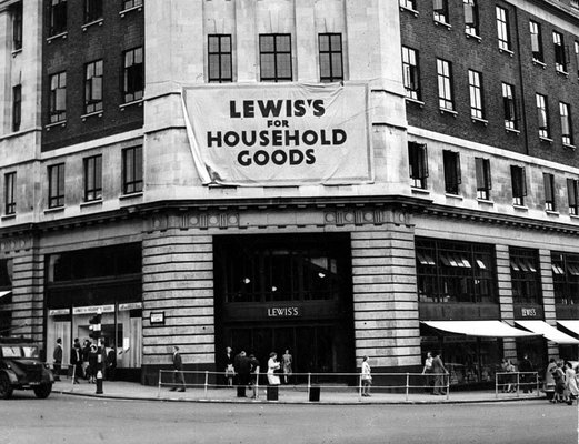 Lewis's (Leeds) Ltd General View, Headrow